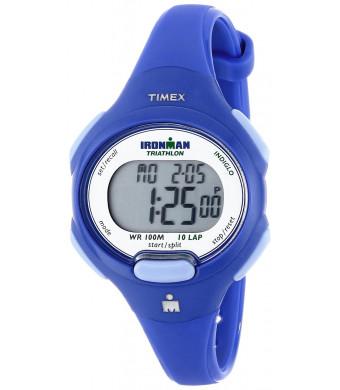 Timex Women's T5K784 Ironman Blue Resin Sport Watch