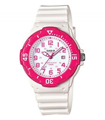 Casio Women's LRW-200H-4BVCF Dive Style White Watch