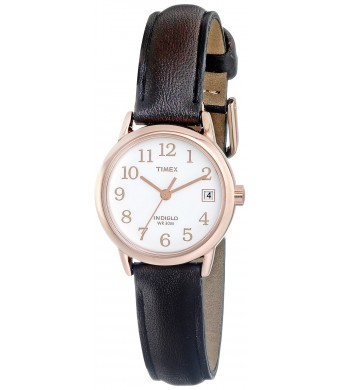 Timex Women's T2P5649J Easy Reader Analog Display Analog Quartz Brown Watch