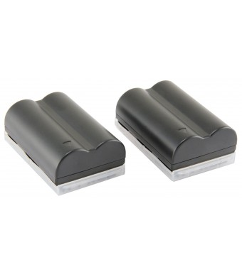 STK's Canon BP-511 Battery - TWO PACK 2200 mAh BP-511A BP511 BP511A Lithium Ion Battery Pack for Canon EOS 5D, 50D, 40D, 20D, 30D, 10D, Digital Rebel