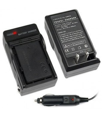 niceEshop NP-FM50 Np-f330 Np-530 Np-f550 Np-f570 Np-f730 Np-f750 Battery Home Travel Charger