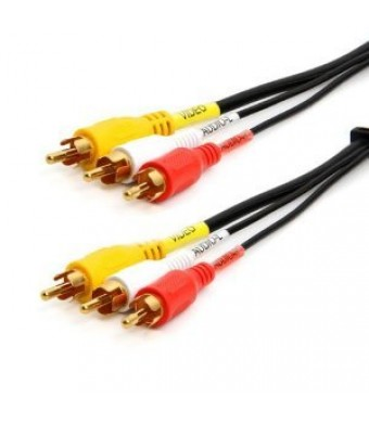 RiteAV - Audio Video RCA Cable 3 feet