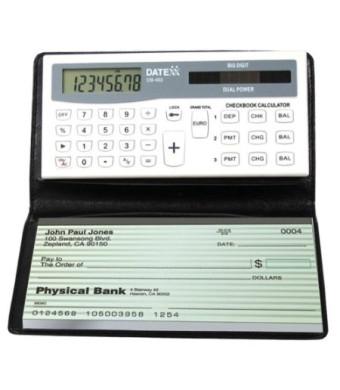 Datexx DB-403 3-Memory Checkbook Calculator