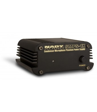 Nady SMPS-1X 1-Channel 48V Phantom Power Supply for SCM Series Microphones