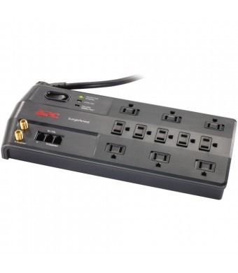 APC P11VT3 3020 Joules Performance SurgeArrest 11 Outlet with Phone Splitter and Coax Protection, 120V