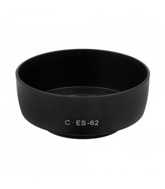 Fotodiox Dedicated Lens Hood, for Canon EOS EF 50mm f/1.8 II Lens (replaces Canon ES-62)
