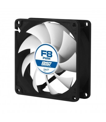 ARCTIC F8 PWM PST - Standard Low Noise PWM Controlled Case Fan with PST Feature