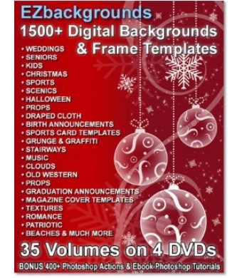 1500+ Professional Digital Photo Backgrounds and Photography Frame Templates