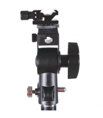 CowboyStudio Umbrella Mount Bracket with Swivel Tilt Bracket for Nikon and Canon 430EX E580EX SB600 SB800 SB900