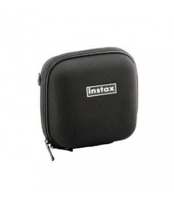 Nifty Mini Zippered Camera Case for the FUJIFILM INSTAX Mini-7s, Mini-8, Mini-25, Mini 50s, Mini 90 Neo Classic, and Polaroid 300 (Black)