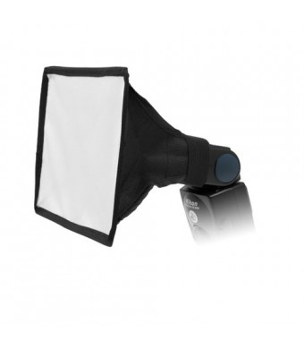 "Fotodiox 6"" x9""  Softbox for Flash, Speedlight, Nikon SB-600, SB-700, SB-800, SB-900, SB-910, Canon Speedlite 380EX, 430EX, II, 550EX, 580EX, II, 600"