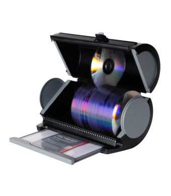 Atlantic 85012055 Disc Manager 80 Disc Storage - Black