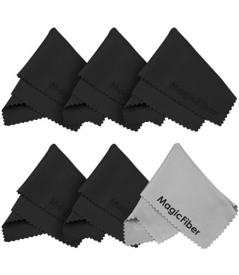 (6 Pack) The Amazing MagicFiber - Premium Microfiber Cleaning Cloths - For Screens, Lenses, Glasses, iPad, Galaxy Tab, Sony, Nexus, Chromo, Surface T