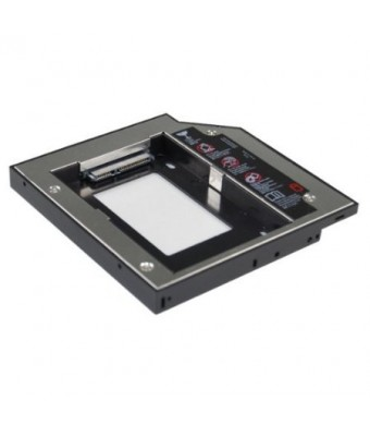 SANOXY SATA 2nd HDD caddy for 12.7mm Universal CD/DVD-ROM