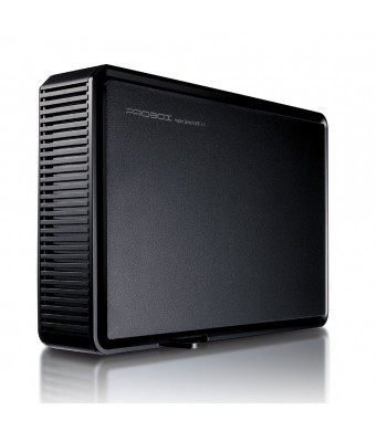 "Mediasonic ProBox K32-SU3 3.5""  SATA Hard Drive Enclosure - USB 3.0 SuperSpeed, Optimized for UASP and SATA 3 6.0Gbps hard drive transfer rate"