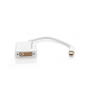 BlueRigger Mini DisplayPort (Thunderbolt) to DVI Female Adapter Cable