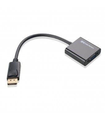 Cable Matters Gold Plated DisplayPort to VGA Male to Female Adapter