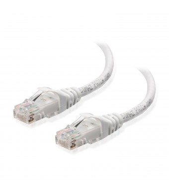 Cable Matters Cat6 Snagless Ethernet Patch Cable in White 25 Feet