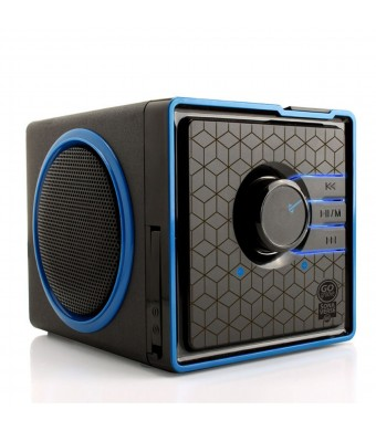 GOgroove SonaVERSE BX Portable Stereo Speaker System w/ Rechargeable Battery and 3.5mm Aux Port - Works With Apple , Samsung , HTC , Sony and More Sm