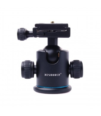 XCSOURCE Pro All Metal Camera Tripod Ballhead with Quick Release Plate for Canon 5D mark II III 550d 50d 600d 1000d 1100d 650d 700d Nikon D7100 D7000