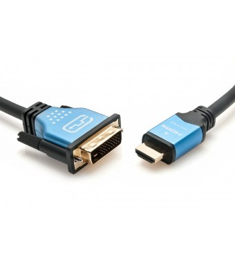 BlueRigger High Speed HDMI to DVI Adapter Cable (3 Feet/ 1 Meters)