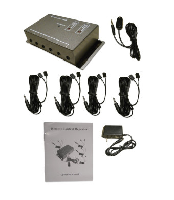 BAFX Products - IR Repeater - Remote control extender Kit - Operate 1 to 8 devices! OR more!