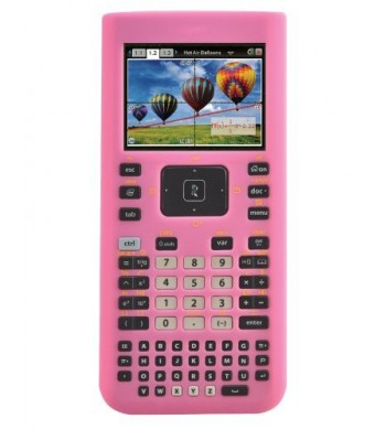 Guerrilla Silicone Case for Texas Instruments TI Nspire CX/CX CAS Graphing Calculator, Pink
