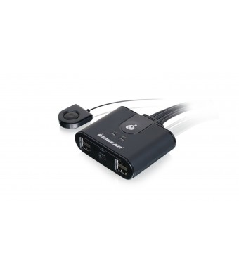 IOGEAR 4 x 4 USB 2.0 Peripheral Sharing Switch (GUS404)