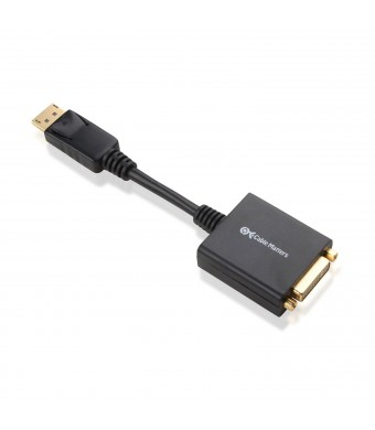 Cable Matters Gold Plated DisplayPort to DVI Male to Female Adapter