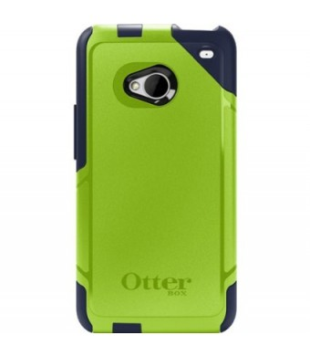 OtterBox 77-26431 Commuter Series Hybrid Case for HTC One - 1 Pack - Retail Packaging - Punked (Discontinued by Manufacturer)