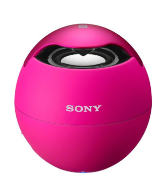 Sony SRSBTV5 Portable NFC Bluetooth Wireless Speaker System (Pink - Discontinued by Manufacturer)