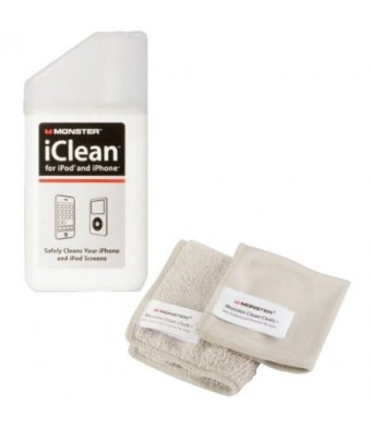 MONSTER 132799 iClean(TM) iPhone(R) and iPod(R) Screen Cleaner