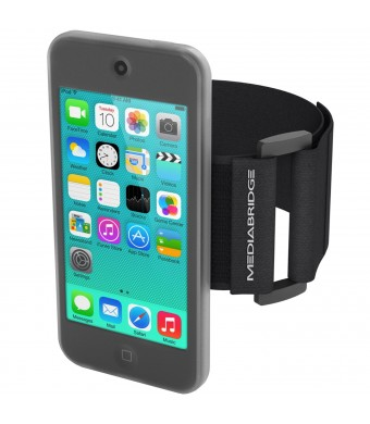 Armband for iPod Touch - 5th Generation ( Clear ) - Model AB1 by Mediabridge (Part# AB1-IPT5-CLEAR )