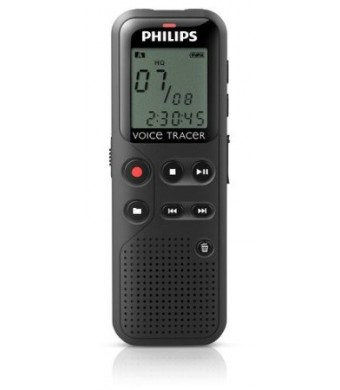 Philips DVT1100 4GB Digital Voice Recorder with PC Connection