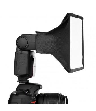 "NEEWER 6"" x8""  Softbox / 20x15cm Dome Light Translucent Soft Flash Box Portable For Flash, Speedlight, NEEWER TT520 TT560 TT660, Nikon SB-900 AF, SB-"