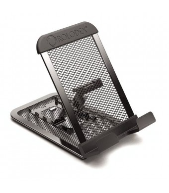 Rolodex Mesh Collection Mobile Device and Tablet Stand, Black (1866297)