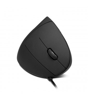 Anker Ergonomic Optical USB Wired Vertical Mouse 1000 / 1600 DPI, 5 Buttons CE100