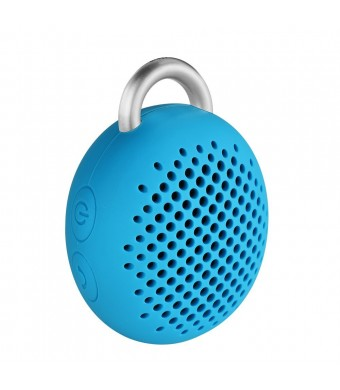 Satechi Divoom Bluetune-Bean (Blue) Portable Bluetooth Speaker for smartphones, music players, tablets, laptops, iPhone 6, 5S, 5C, 5, 4S, iPad Mini/A