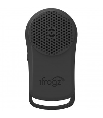 iFrogz Audio Tadpole wireless Bluetooth Speaker - Black/Grey