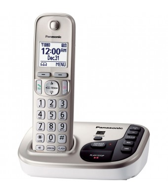 Panasonic KX-TGD220N DECT 6.0 Expandable Digital Cordless Answering System