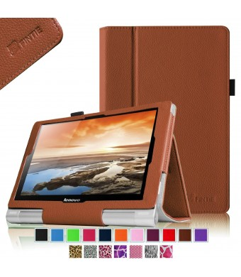 Fintie Lenovo Yoga 10 / Yoga 10 HD+ Folio Case - Premium Leather Cover With Stylus Holder (For Yoga Tablet 10.1-Inch / Yoga Tablet 10.1-Inch HD+) - S