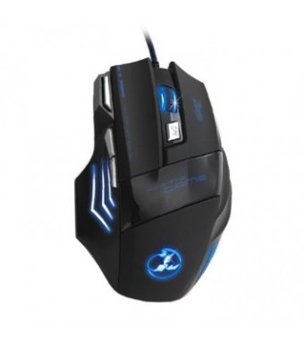 Mamamiya 3200 DPI 7 Button LED Optical USB Wired Gaming Mouse Mice for Pro Gamer