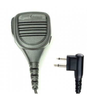 Professional Heavy Duty Shoulder Remote Speaker Mic Microphone PTT For 2-pin Motorola Radio CP040 CP200 XTNi DTR VL50