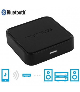 Nyrius Songo Wireless Bluetooth Music Receiver Adapter for Audio Streaming iPhone, iPad, iPod, Samsung, Android, HTC, Windows, Blackberry, Smartphone