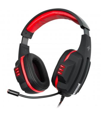 Gaming Headset Virtual 7.1 USB DAC Headphones Sentey Symph Gs-4531 Inline Control with Volume Regulation - Computer Headset Gaming - Computer Gaming