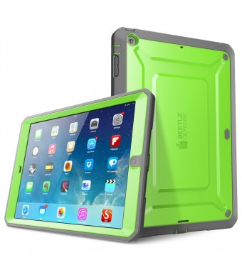 iPad Air Case, SUPCASE Heavy Duty Beetle Defense Series Full-body Rugged Hybrid Protective Case Cover with Built-in Screen Protector for Apple iPad A
