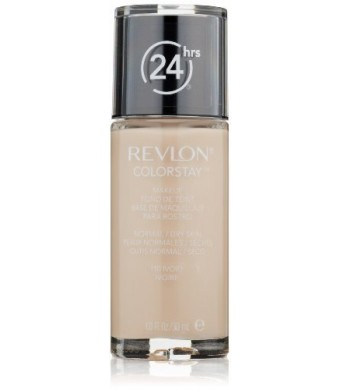 Revlon ColorStay Makeup with SoftFlex, Normal/Dry Skin, Ivory 110, 1 Ounce