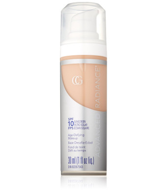 CoverGirl Advanced Radiance Liquid Makeup, Classic Ivory 110, 1.0-Ounce