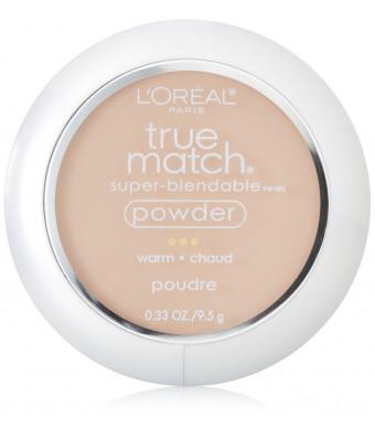 L'Oreal Paris True Match Powder, Nude Beige, 0.33 Ounces