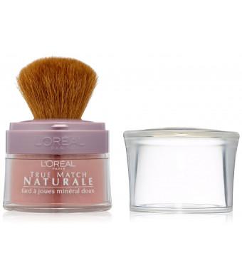 L'Oreal Paris True Match Naturale Gentle Mineral Blush, Soft Rose, 0.15 Ounces